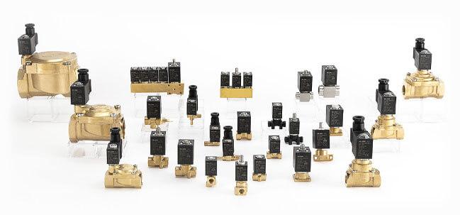 componenti per controllo fluidi