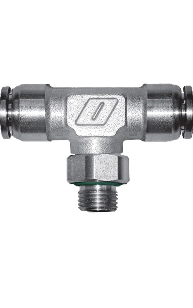SERIES 100/XX [FKM] STAINLESS STEEL AISI 316QUICK COUPLING FITTINGS FOR PLASTIC PIPES