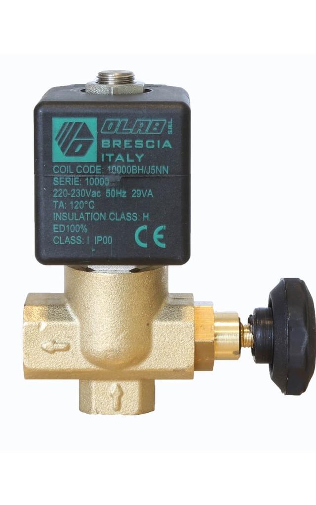SERIES 10400 N.C. 2/2 SERVICEABLE SOLENOID VALVES INOX INSERT 36mm  d.n. Ø14