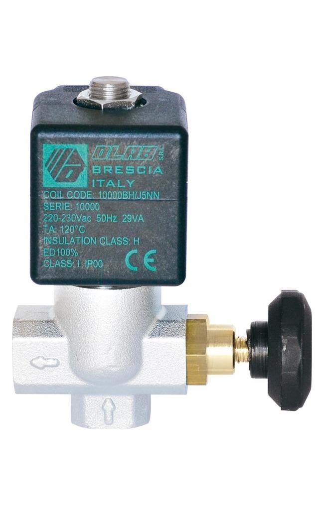 SERIES 10600 N.C. 2/2 SERVICEABLE SOLENOID VALVES PTFE GASKET 36 mm  d.n. Ø14