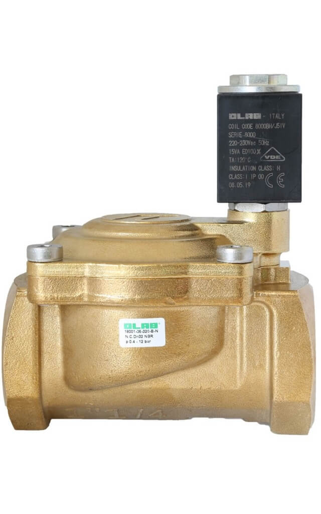 18001 N.C. PILOT OPERATED SOLENOID VALVES FOR WATER, FOR SEVERE CONDITIONS OF USE