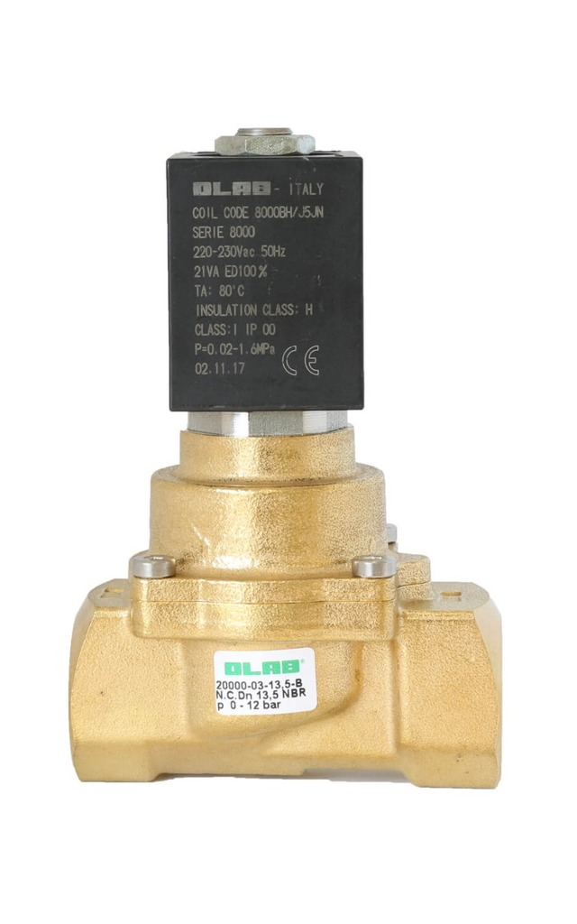 SERIES 20000 SOLENOID VALVES FOR WATER N.C. GUIDED DIAPHRAGM PILOT OPERATED