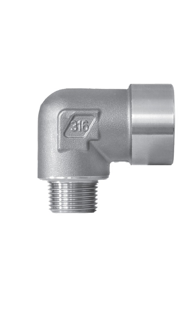 SERIES 4500 STAINLESS STEEL 316 FITTINGS FOR THREADED CONNECTIONS FOR HIGH PRESSURE