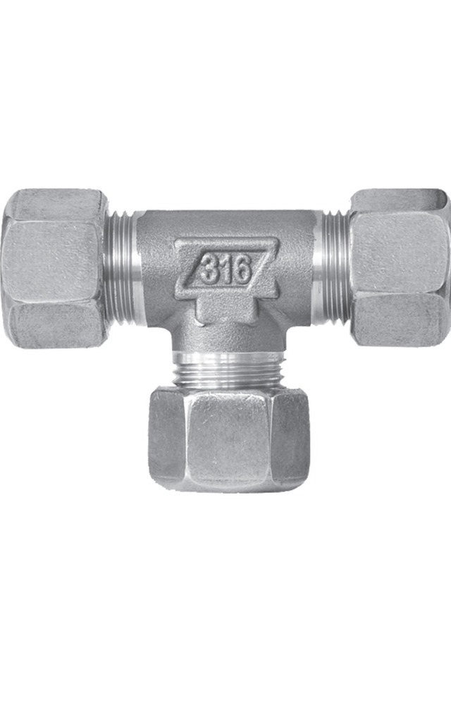 SERIES 5000 DIN 2353 COMPRESSION FITTINGS AISI 316 STAINLESS STEEL