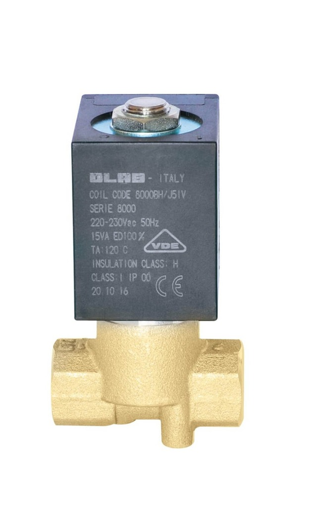 SERIES 8300 N.C.2/2 SOLENOID VALVES SERVICEABLE PTFE GASKET 30 MM  d.n. Ø14