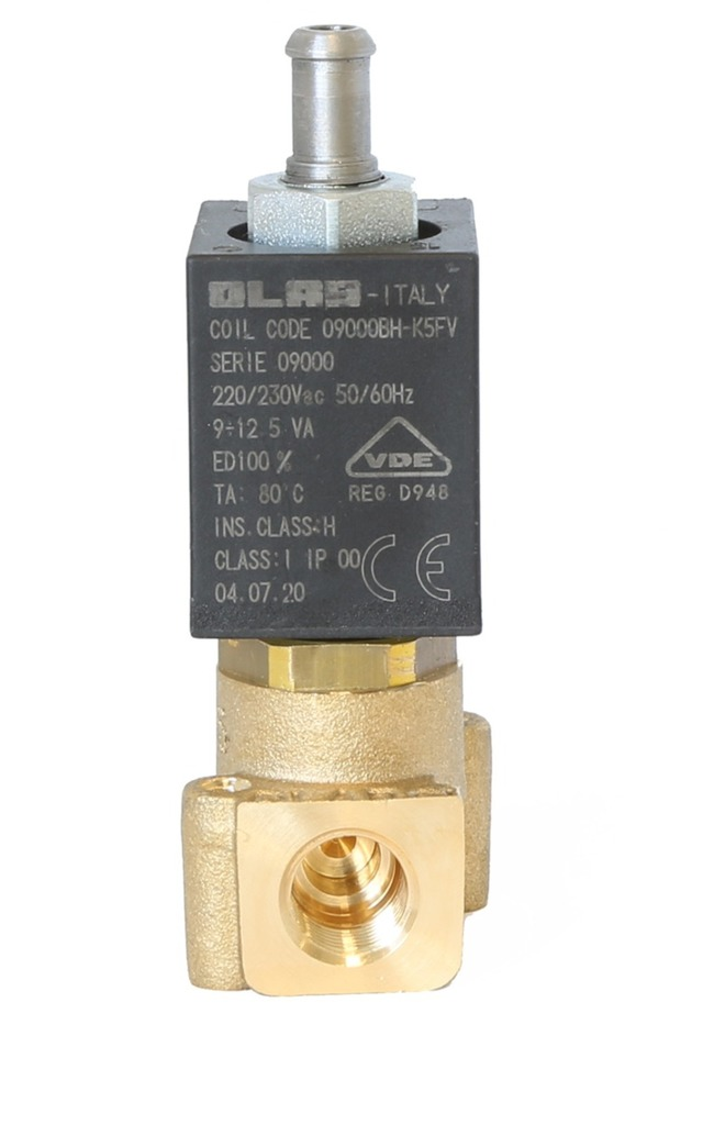 9000 N.O. SERIES N.O. 2/2 ways serviceable solenoid valves  food-grade thermoplastic - 22mm