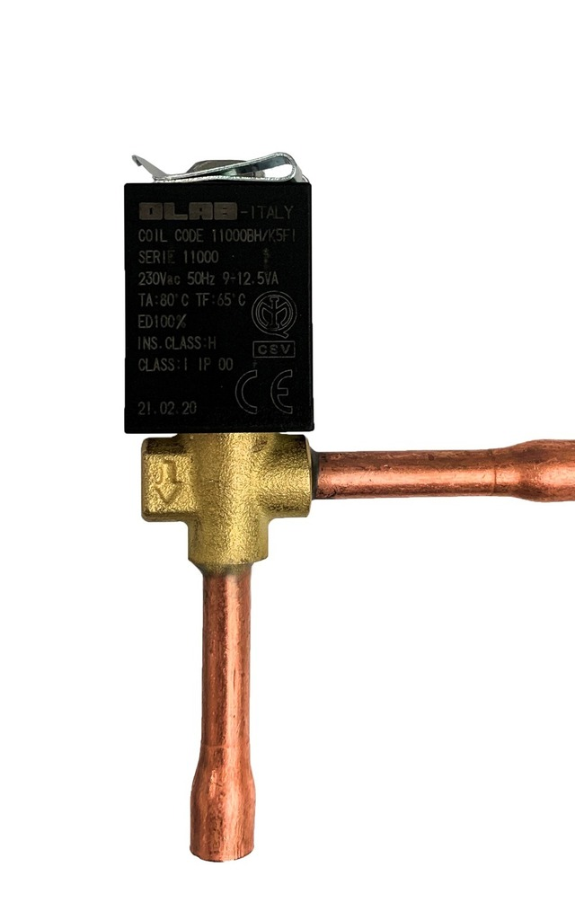 SERIES K09200 N.C. SOLENOID VALVES  - REFRIGERANT FLUIDS HFC-HFO-HC
