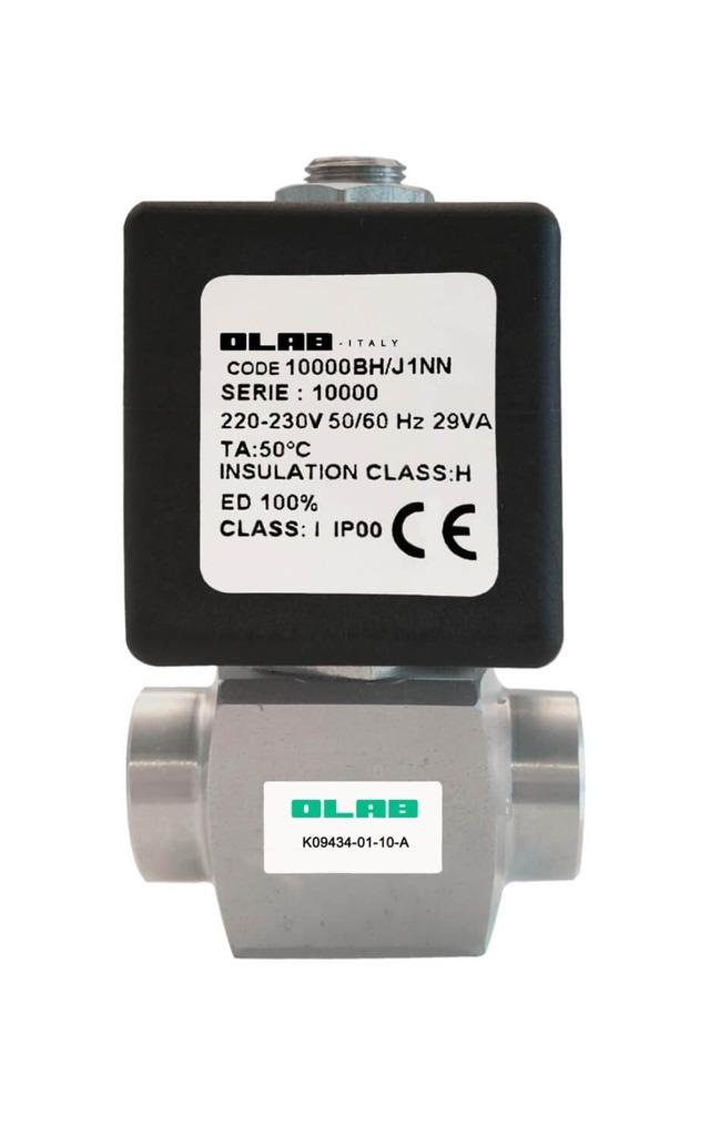 K09434 Stainless steel N.C Solenoid valve 150 bar